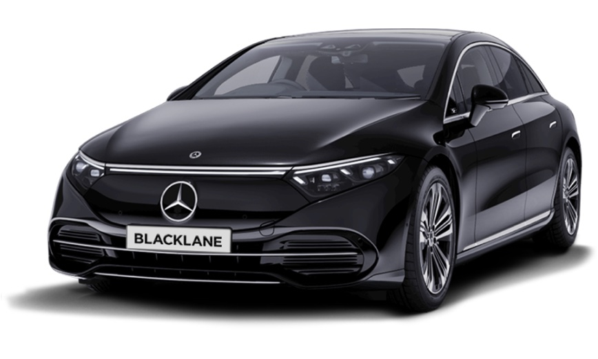 Mercedes-Benz E-Class with Blacklane license plate